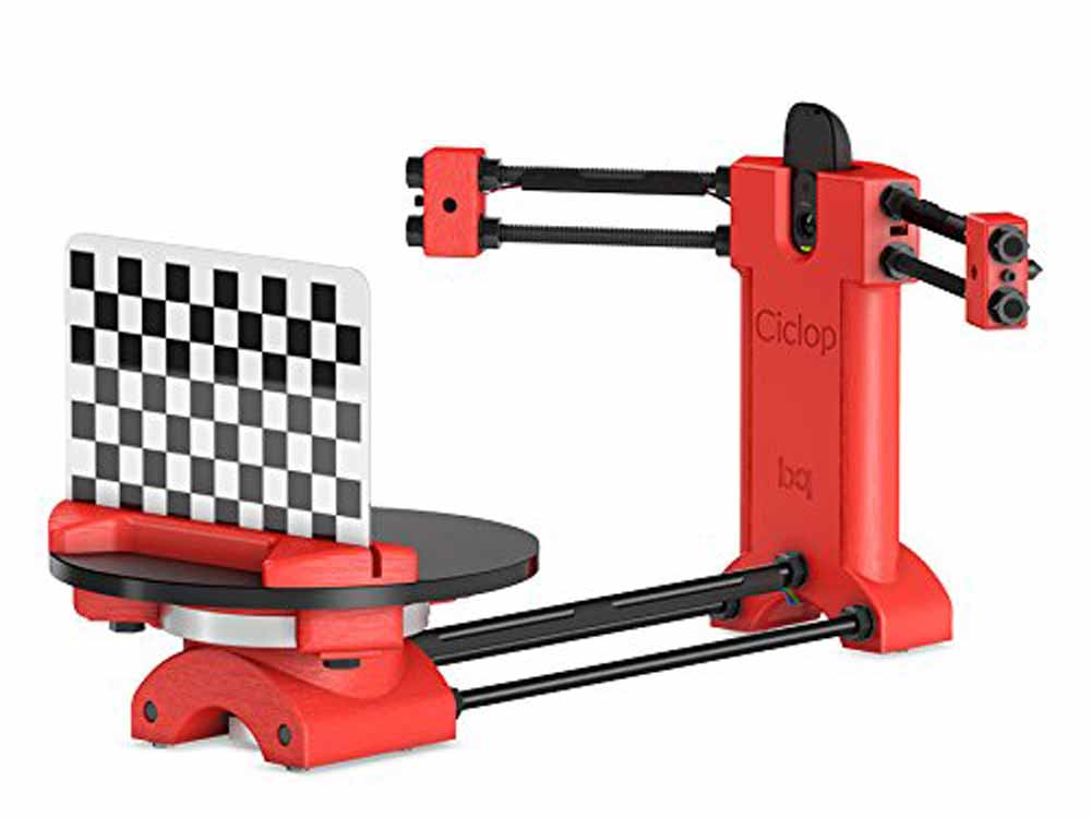 Escáner 3D BQ Ciclop DIY
