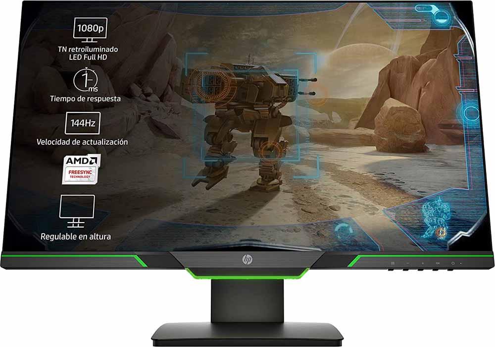 Monitor gaming HP 25x