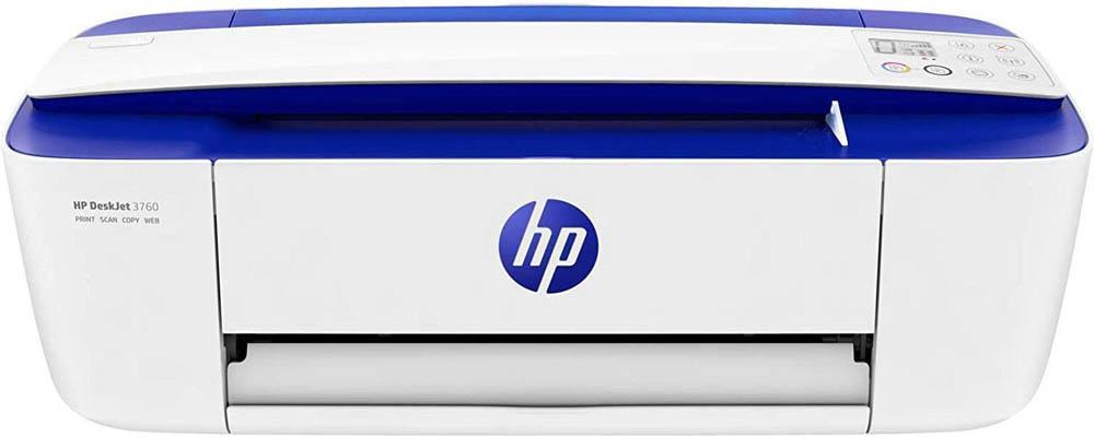 Impresora con escáner HP DeskJet 3760