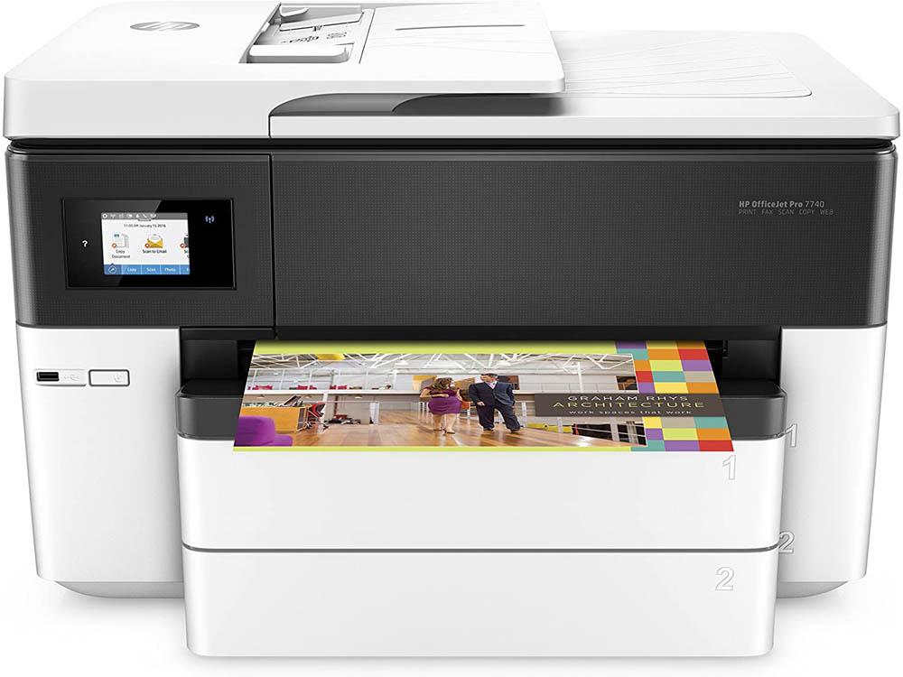 Impresora con escáner HP OfficeJet Pro 7740
