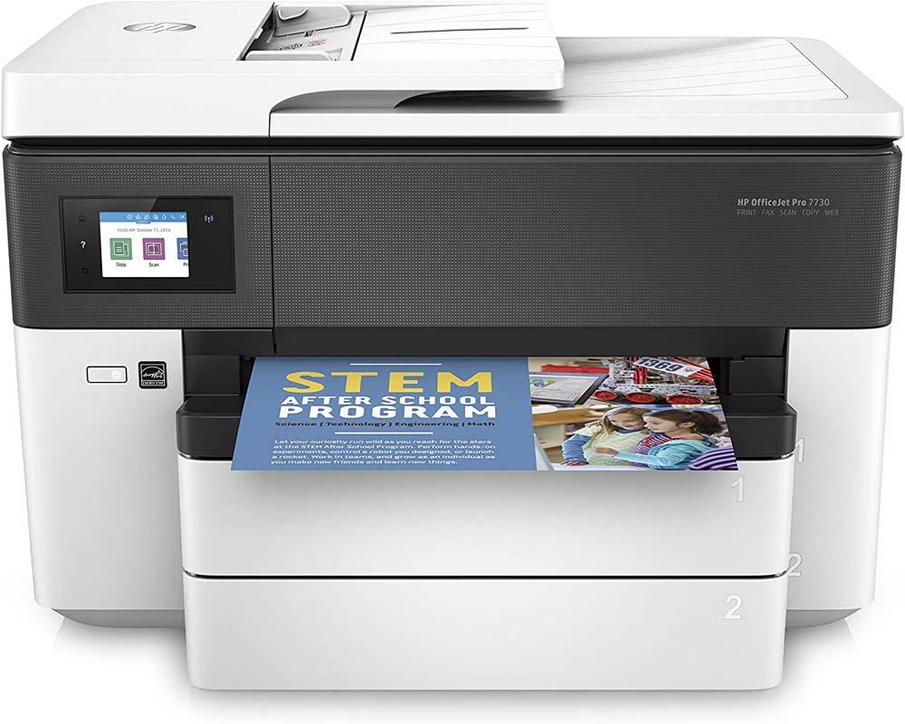Impresora con escáner HP Officejet Pro 7730