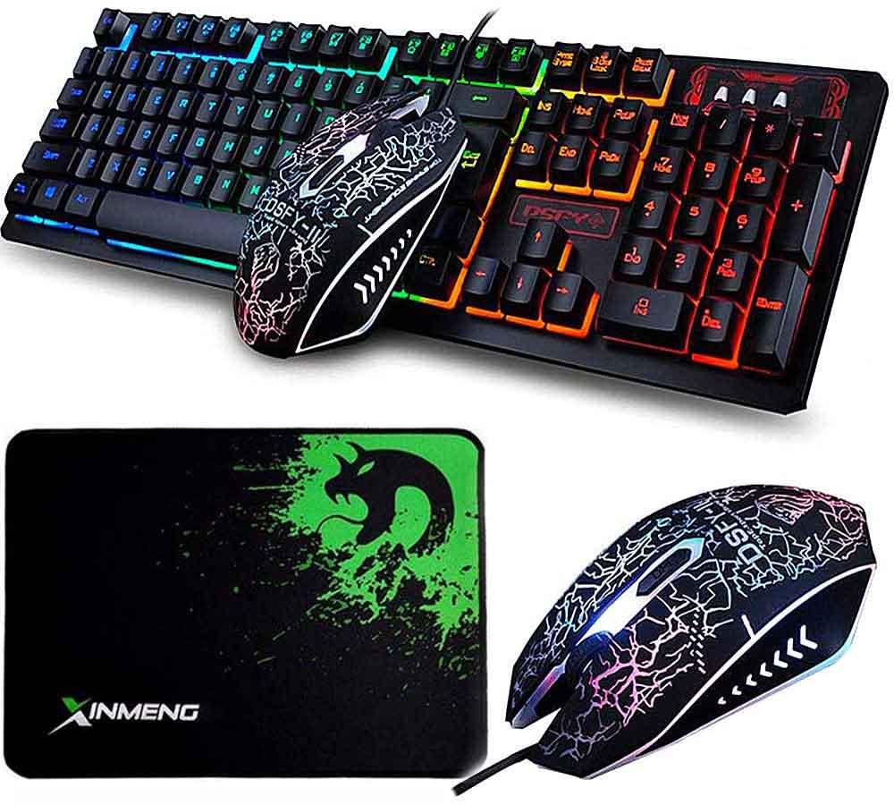 Pack teclado y ratón gaming Lexonelec K13
