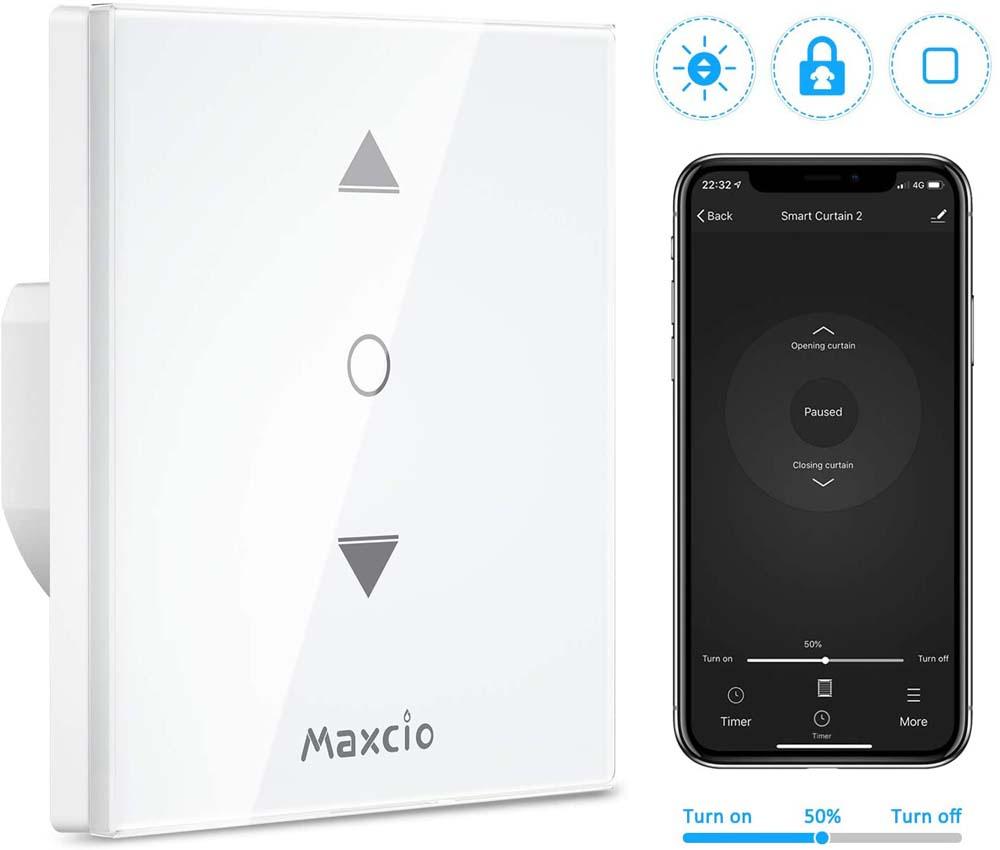 Interruptor WiFi Maxcio 4ta Generación