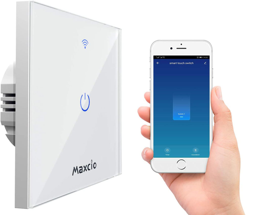 Interruptor WiFi Maxcio RTC001