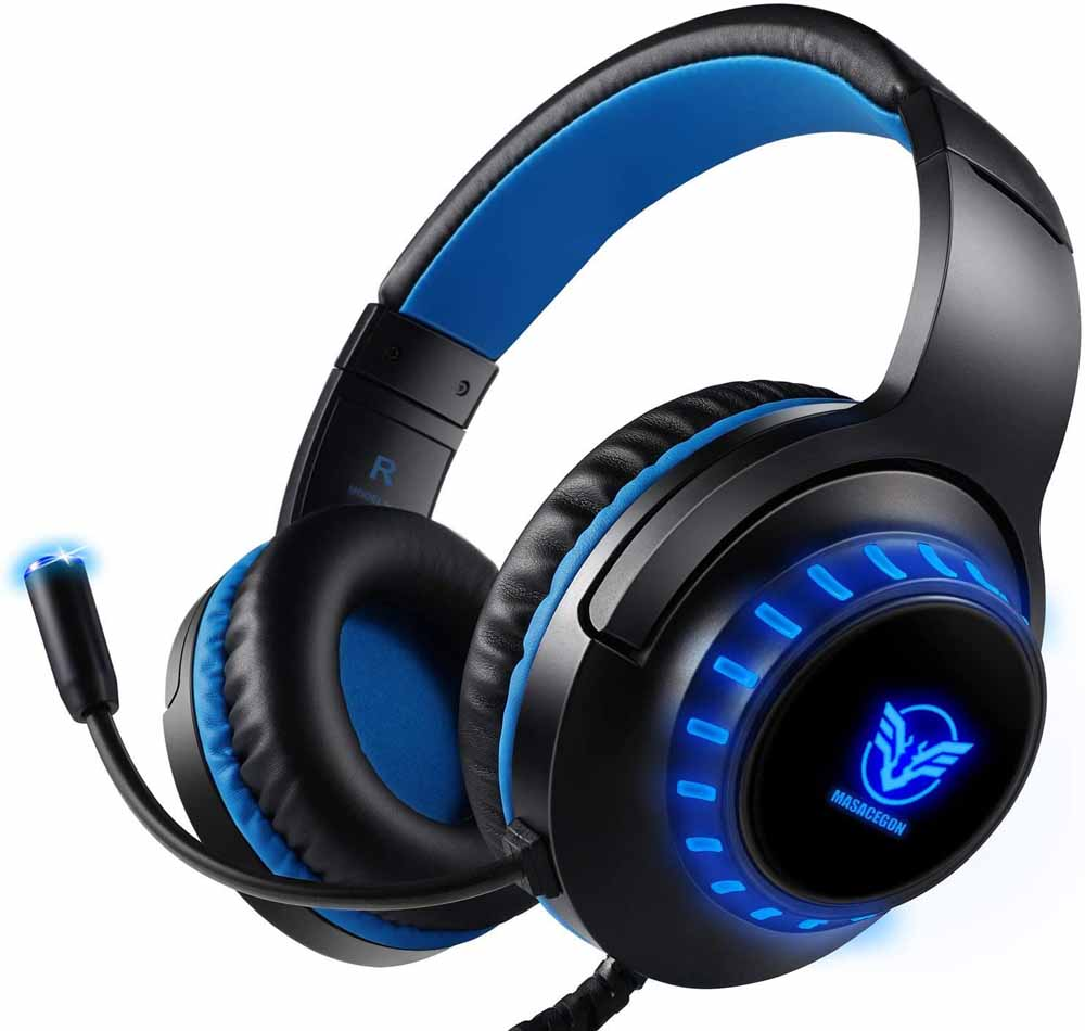 Cascos gaming para PS4 Pacrate H11