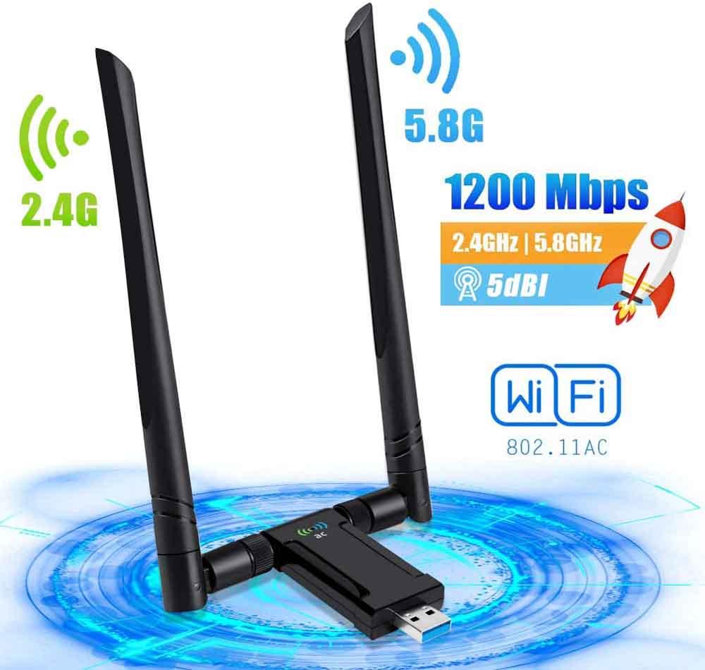 Antena WiFi PiAEK AquariusEU
