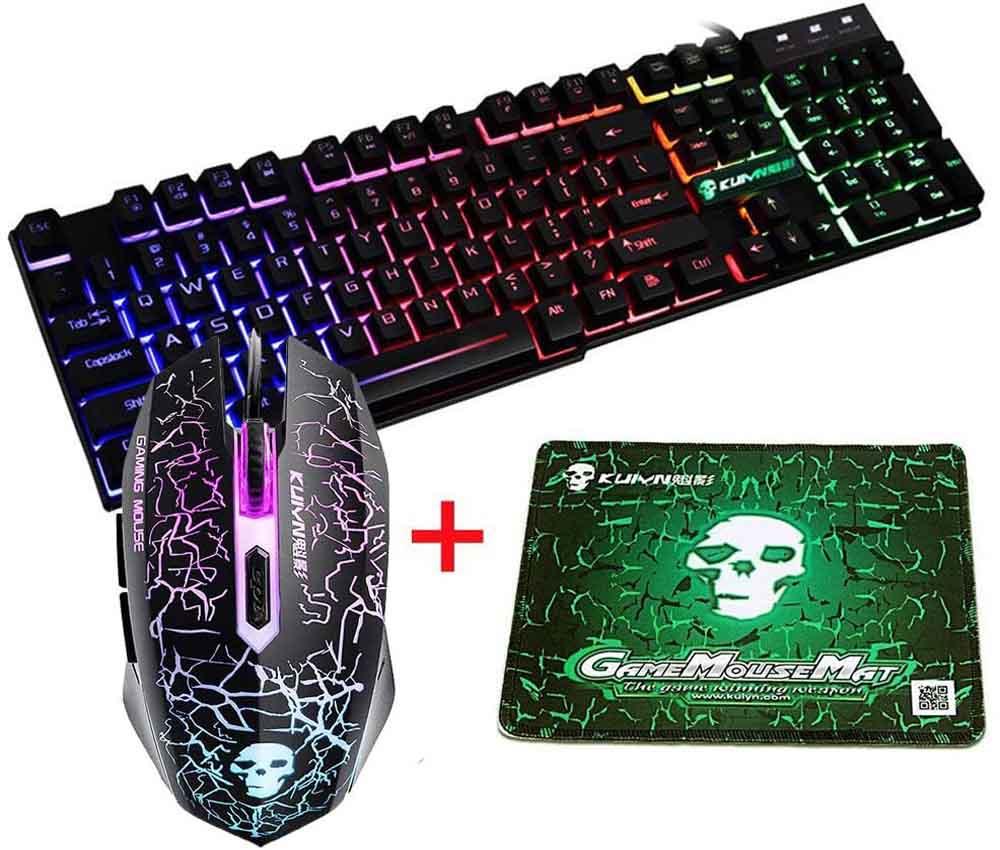 Pack teclado y ratón gaming UrChoiceLtd T6