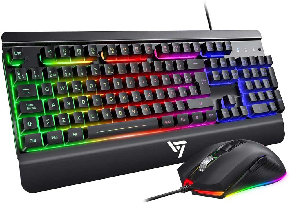 Pack teclado y ratón gaming VicTsing MYVTPC216ABES